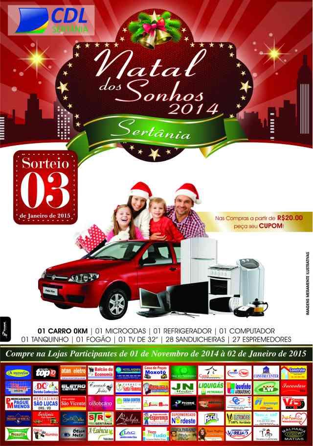 Natal dos Sonhos CDL 2014
